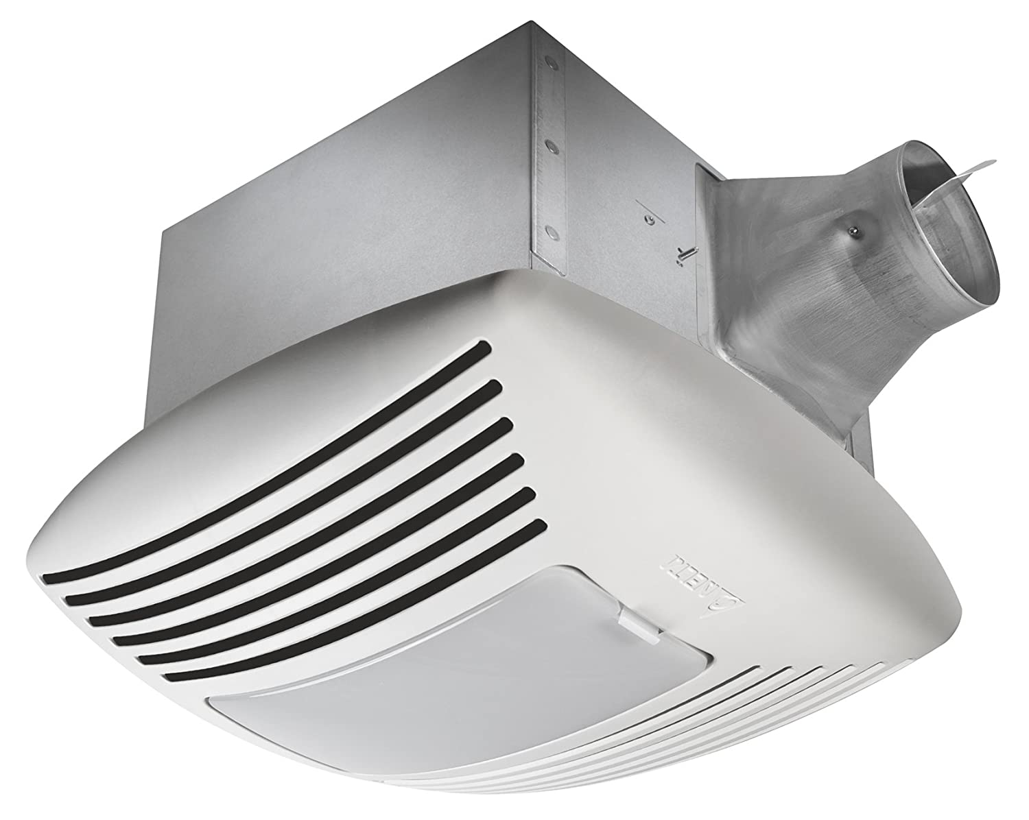 Humidity sensing bathroom fan - Amazon Com Delta Breez Sig110hl Signature 110 Cfm Exhaust Fan Light With Adjustable Humidity Sensor And Speed Control Home Improvement