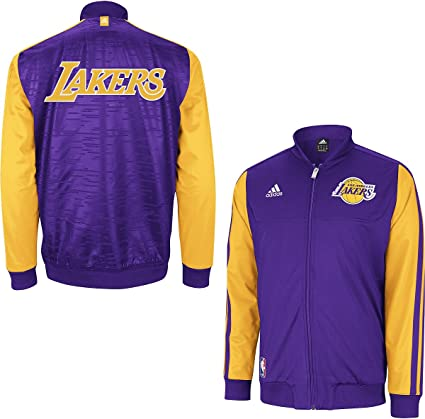 adidas Los Angeles Lakers 2012 Home Weekend on Court Premium Jacket Veste