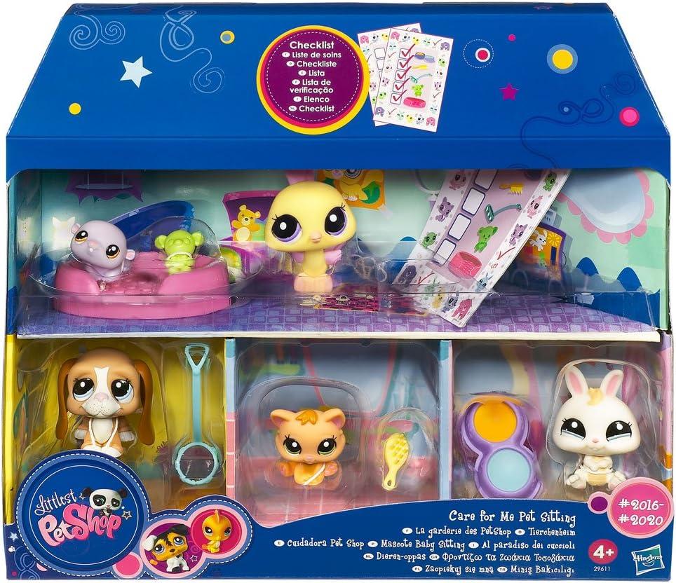 Amazon.es: Hasbro Lps Pack Pet Shops Amiguitas5: Juguetes y juegos