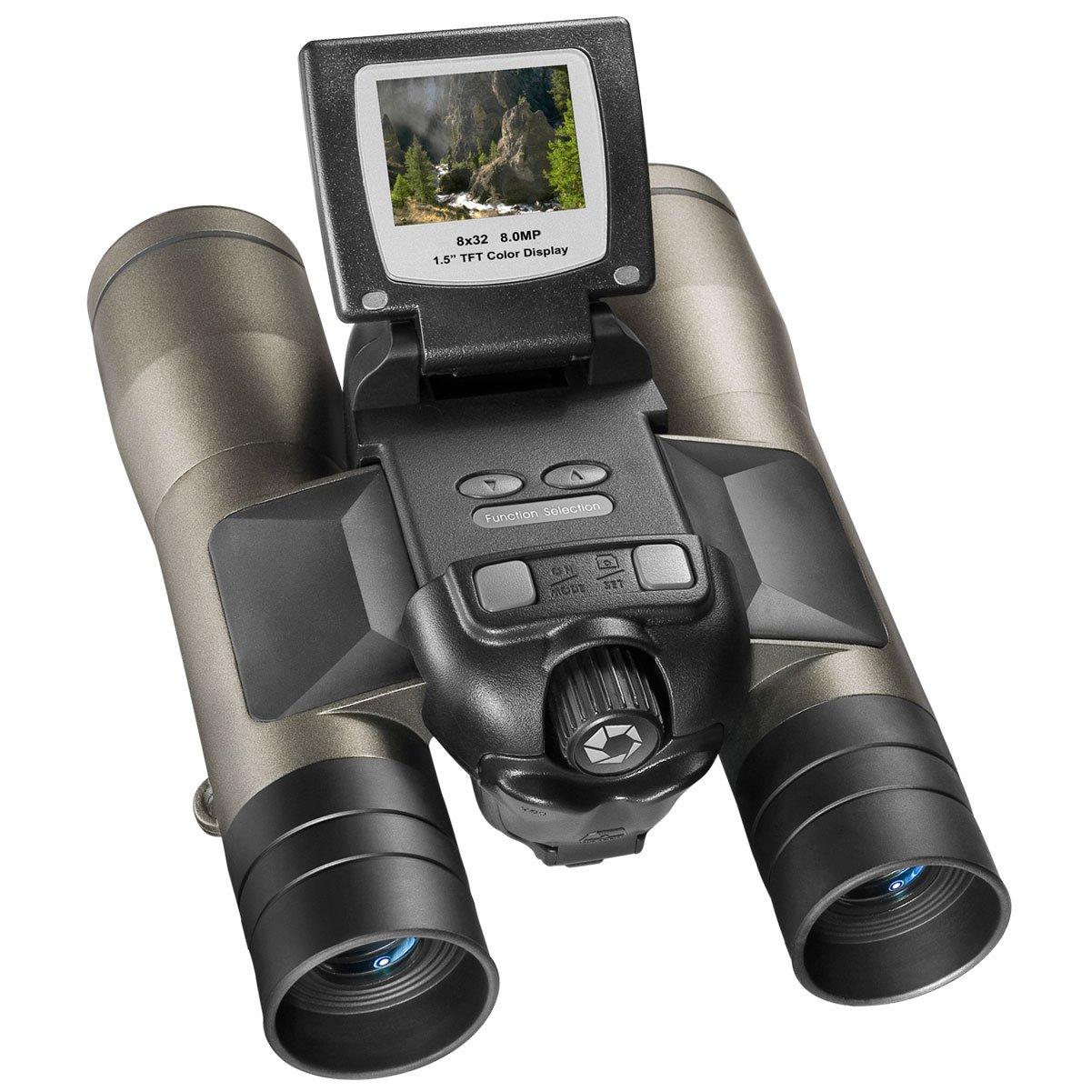 BARSKA 8x32 Binocular & Built-In 8.0 MP Digital Camera by BARSKA