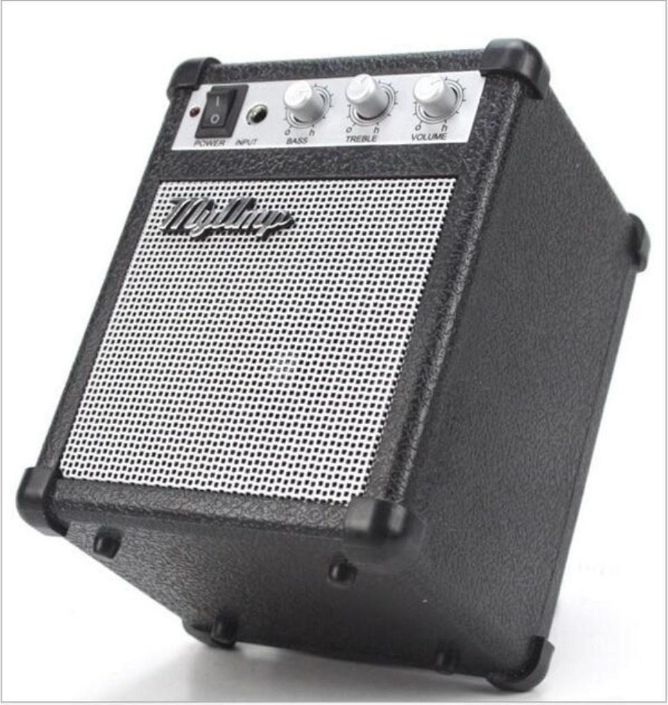 AN-LKYIQI Mini Combo per basso Amp Amplificatore per chitarra con alta fedeltà Audio portatile altoparlante / amplificatore audio
