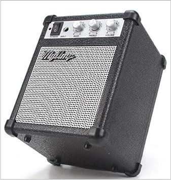AN-LKYIQI Mini Combo bajo amplificador de guitarra con altavoz Portable Audio de alta fidelidad