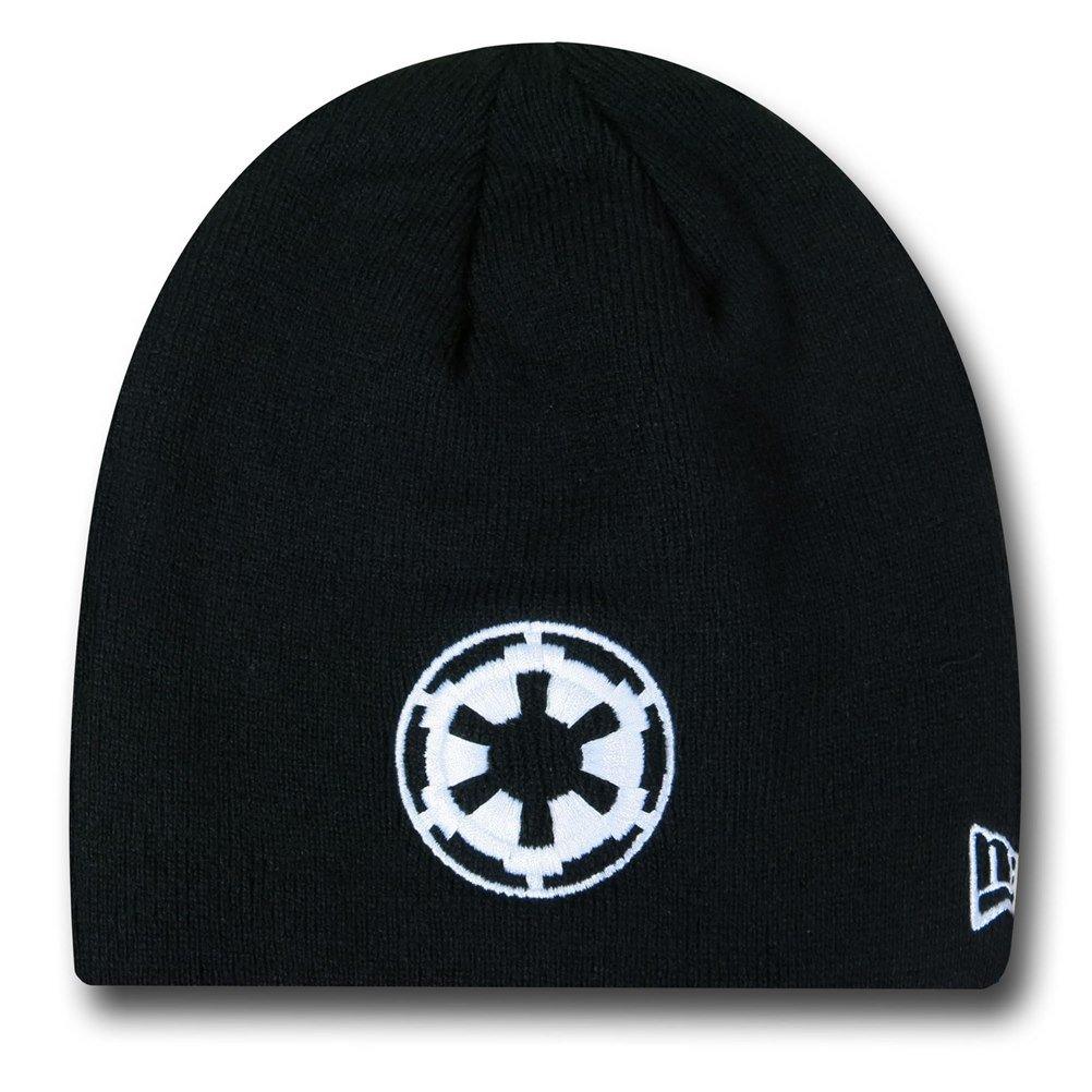 Amazon.com  Star Wars Empire Symbol Black New Era Beanie  Clothing 77fbb5acf05d
