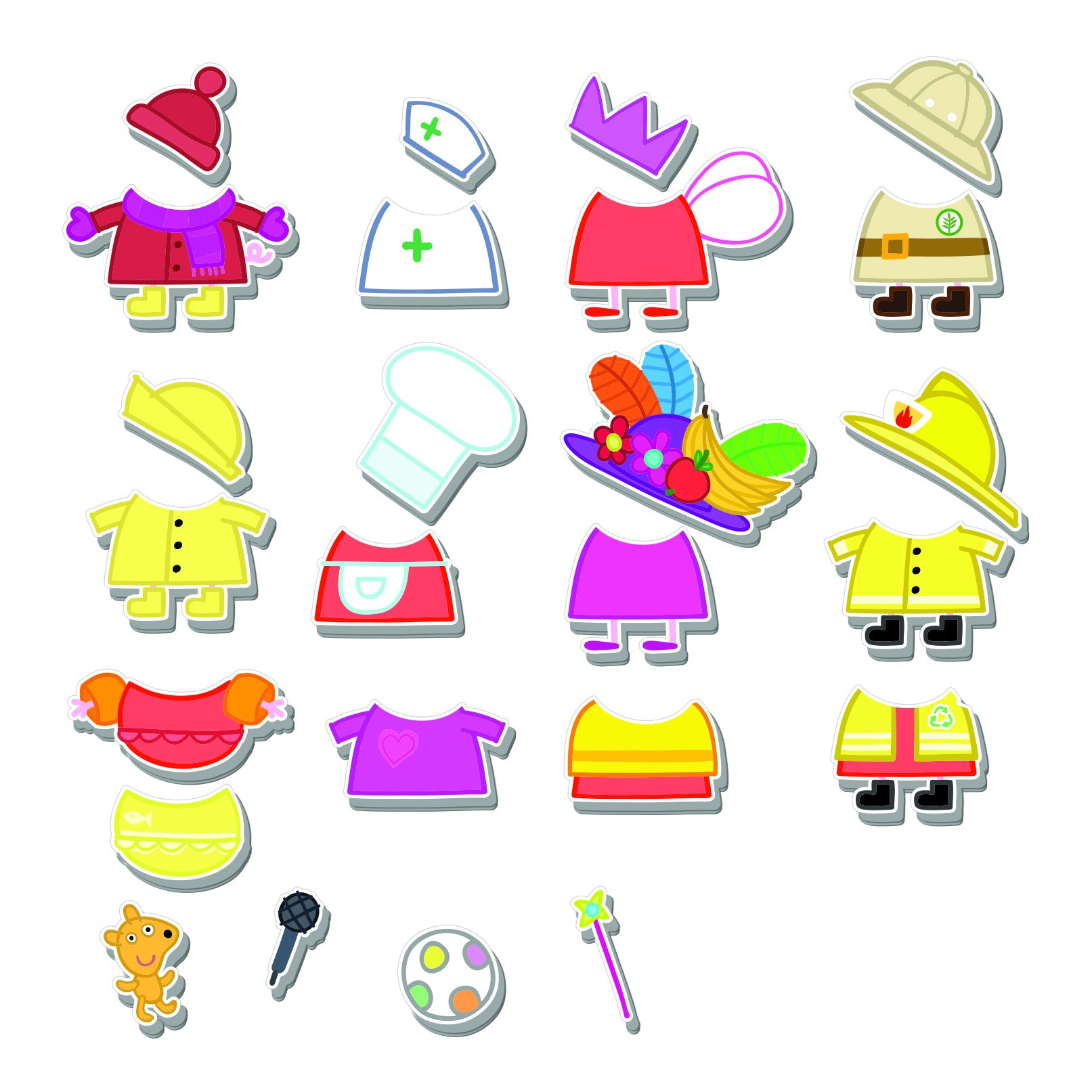 Peppa Pig Magnetic Wood Dress Up Puzzle (25 Piece) by Peppa Pig (Image #4)