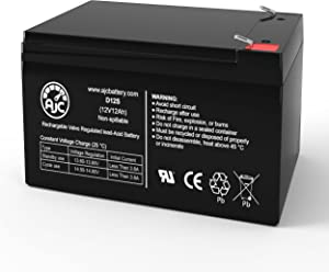 Universal Power Group UB12120ZH 12V 12Ah Lawn and Garden Battery - This is an AJC Brand Replacement