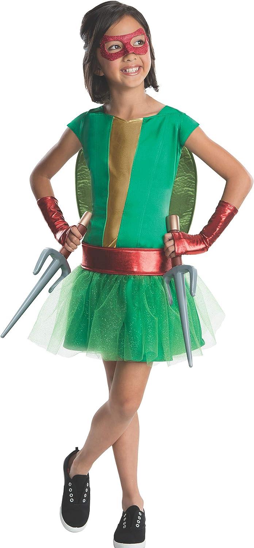 Rubie's Teenage Mutant Ninja Turtles Deluxe Child's Raphael Costume Tutu Dress, Medium