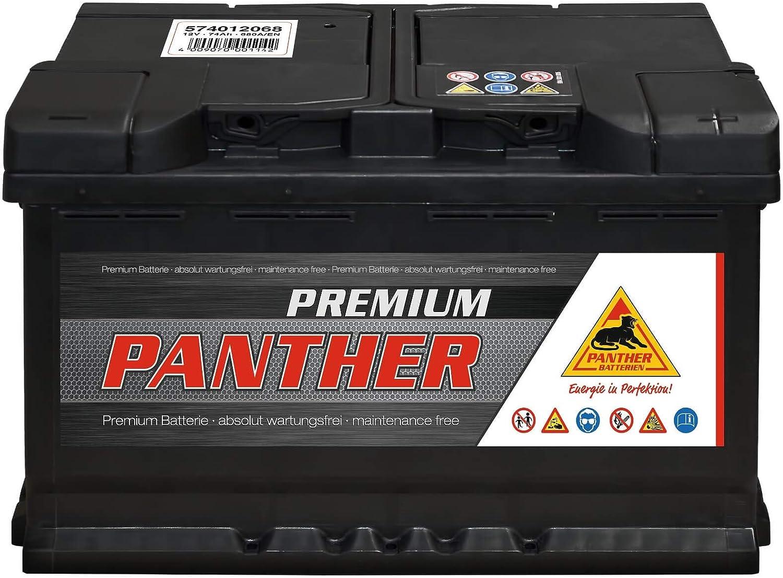 Autobatterie Premium 12V 74Ah