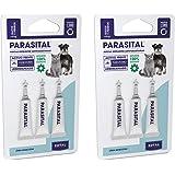 Parasital Pipetas Antiparasitarias para Perros Pequeños y Gatos de hasta 10 kg - Pack de 6x1