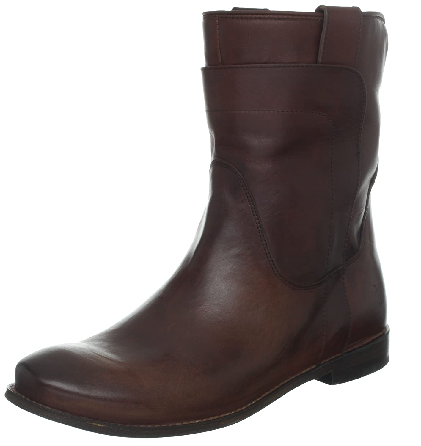 [FRYE] レディースPaige Short Riding Boot 赤wood Smooth Vintage Leather-76958 7.5 B(M) US