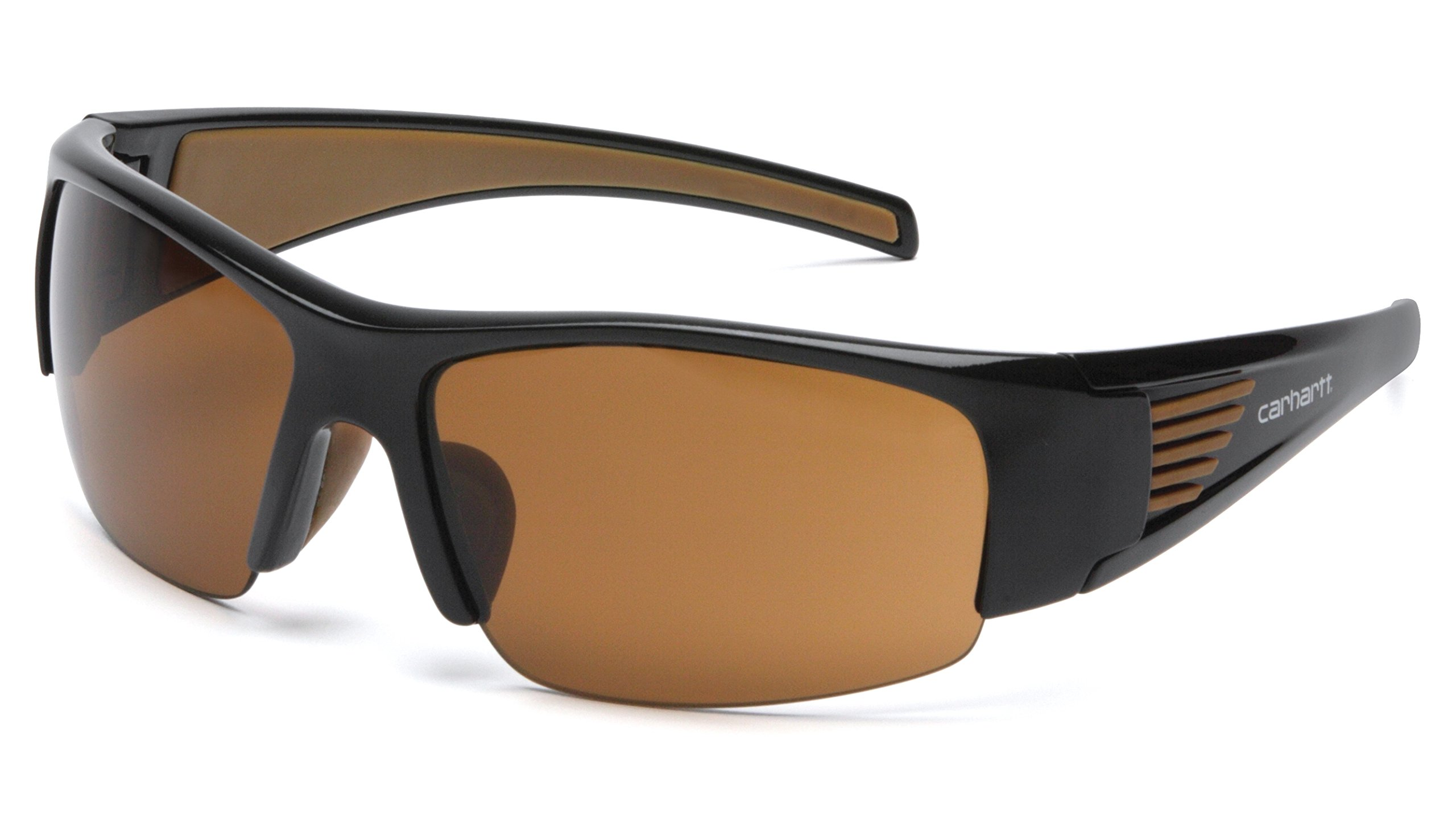 Carhartt Thunder Bay Safety Eyewear with Sandstone Bronze Anti-fog Lens