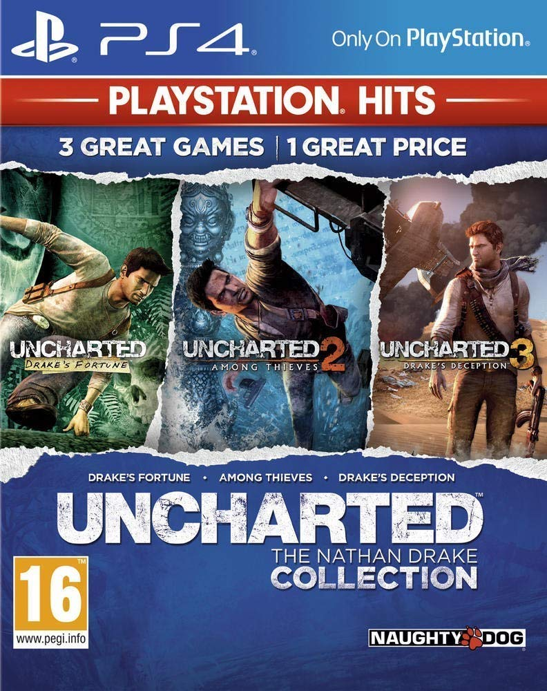 Buy Uncharted Collection Hits Ps4 Online At Low Prices In India