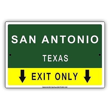 Amazon.com: San Antonio Texas solo salir con puntero flecha ...