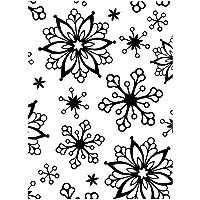 Darice Carpetas de estampación, Plantilla Copos de Nieve