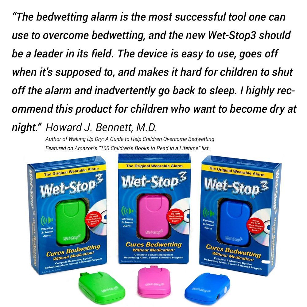 bed wetting bi j bedwetting alarm toileting wireless malem store