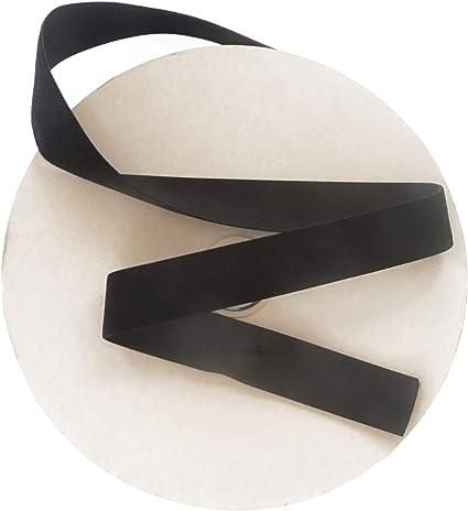 "Black Satin Ribbon 1//4/"" single face Vintage Crafts Sewing Dolls Bows 20 yards"