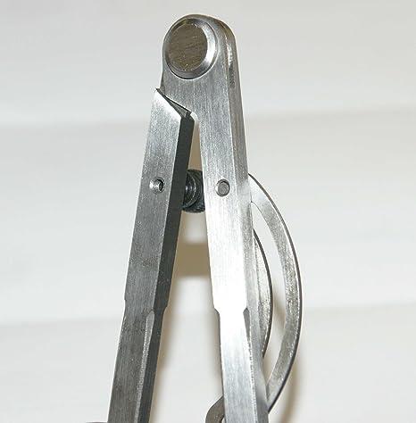 Zirkel 250mm Stellbogen DIN 6486 Messmittelonline