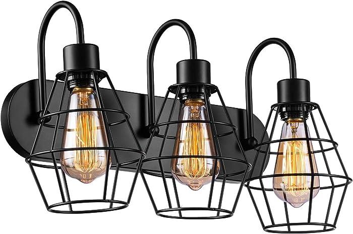 Top 10 Charlton Home Craig Three Light Vanity Light