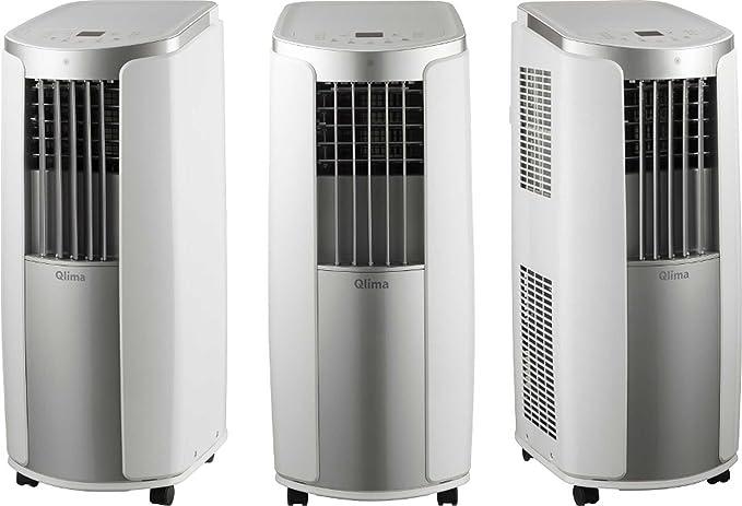 Climatizador portátil Qlima P426 Aire Acondicionado 90 m³ deshumidificador de aire limpiador