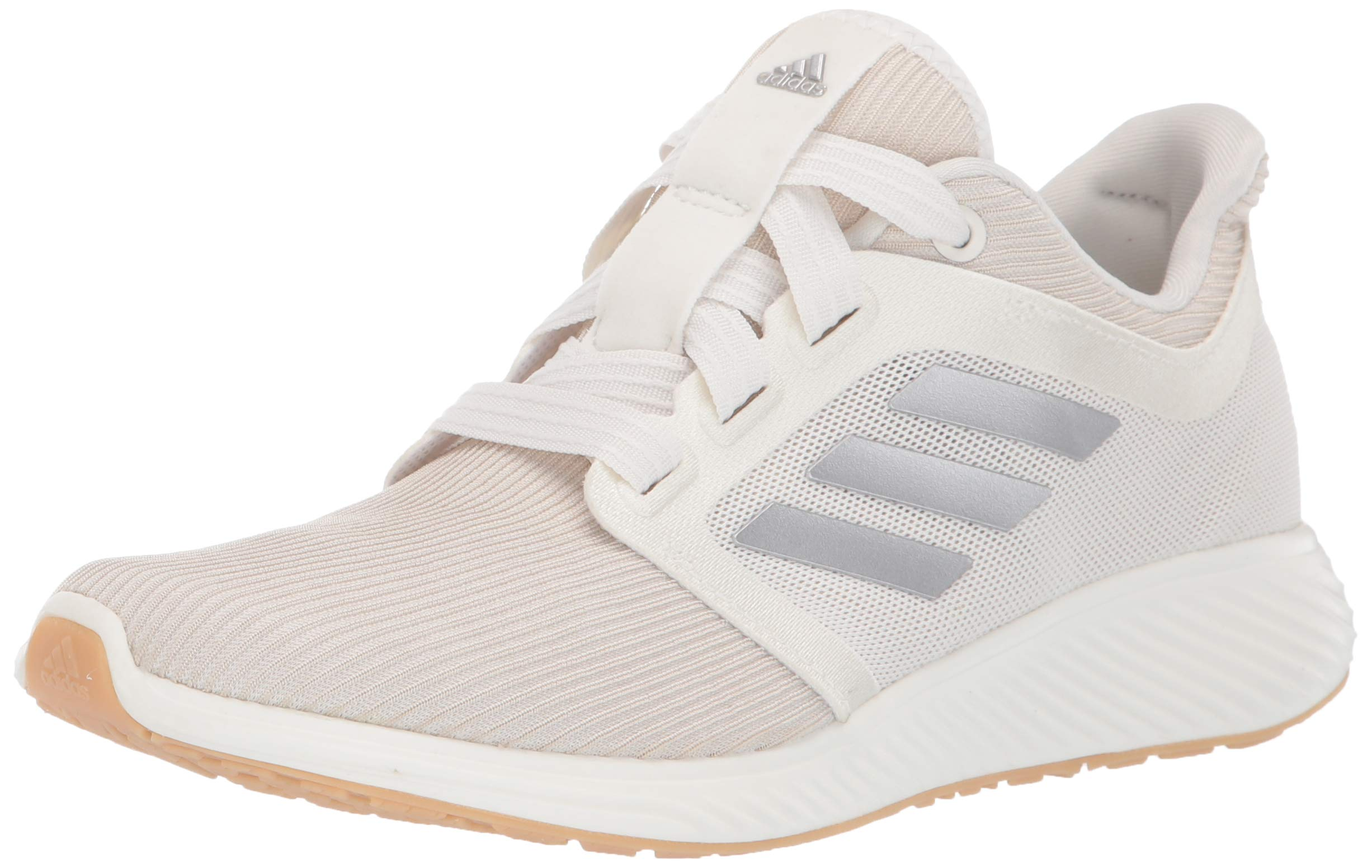 adidas Women's Edge Lux 3 Running Shoe, st Pale Nude/tech Silver Metallic/Cloud White, 5 M US