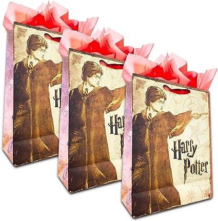 Harry Potter Set de bolsas de regalo – Pack de 3 bolsas de regalo ...