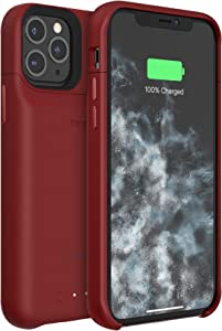 mophie 401004412 Juice Pack Access - Ultra-Slim Wireless Charging Battery Case - Made for Apple iPhone 11 Pro - Product(Red)