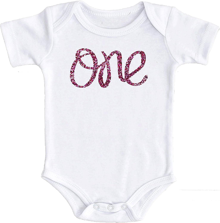Olive Loves Apple 1st Birthday Onesie Girl Glitter Bodysuit Rose Gold, Pink, Purple, Red, Silver for Baby Girl 1st Birthday