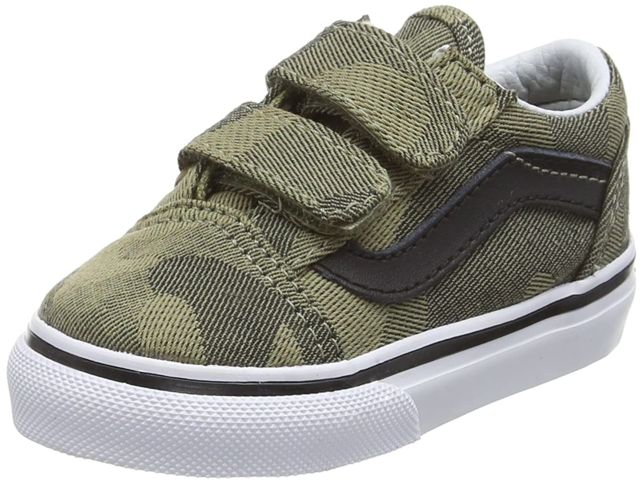 e21bcdff25 Vans Unisex Old Skool V Walking Baby Shoes