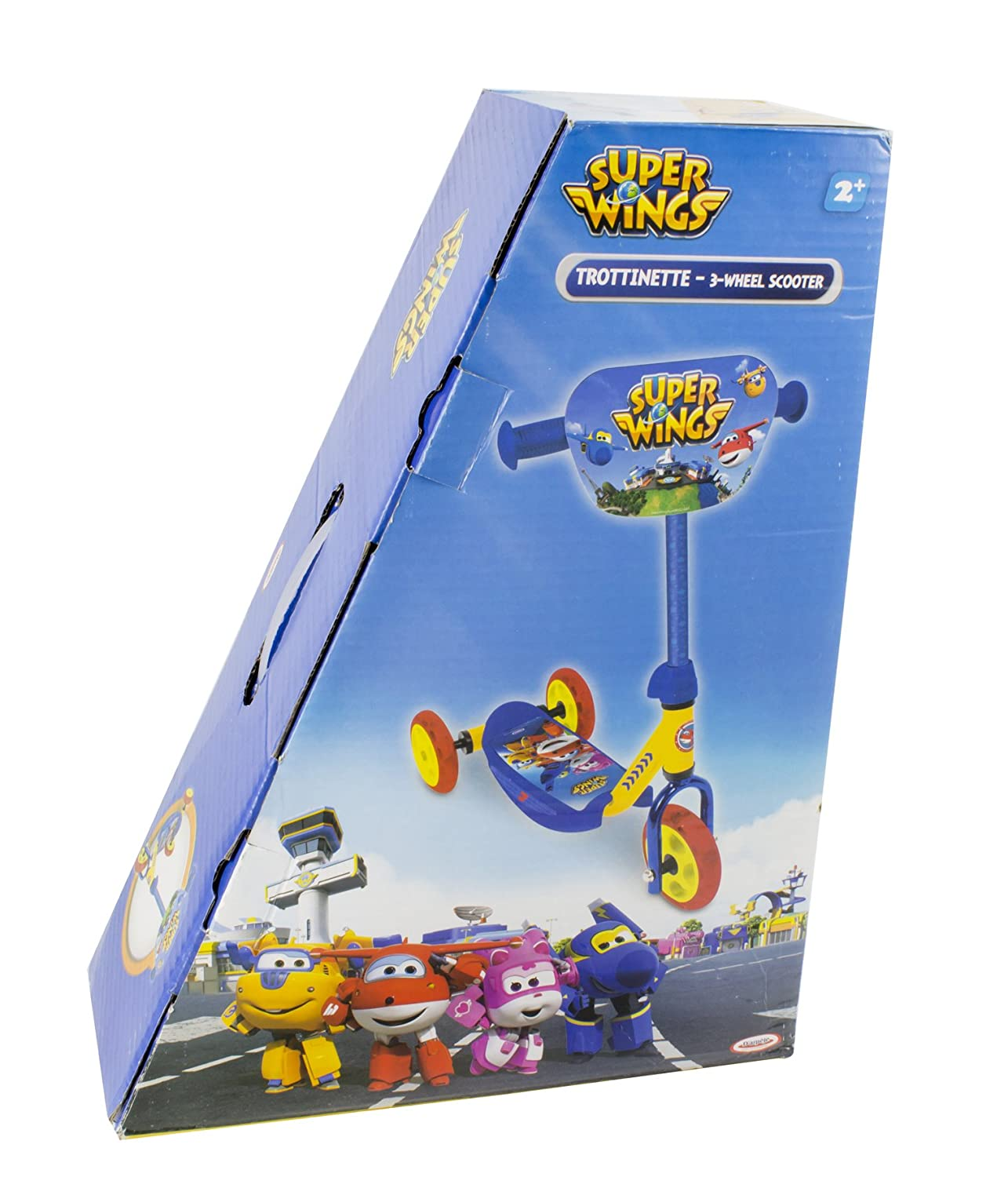 Super Wings-OSWI110 Super Wings Patinete Juegos, Color, única (Darpeje OSWI110