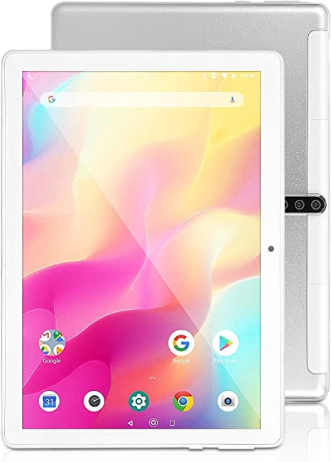 Bluetooth Tablet 10 Inch Android 9.0 4G//5G Tablets PC with Dual Sim Card Slots and Camera Google Certified GPS,Gold Quad-Core Processor Wi-Fi 32GB Storage