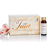 Taut Premium Collagen Advanced Formula Supplement Drink - 13,000mg Marine Collagen Peptides + Grape Seed Extract. Clinically Tested. Dermatologist Tested.
