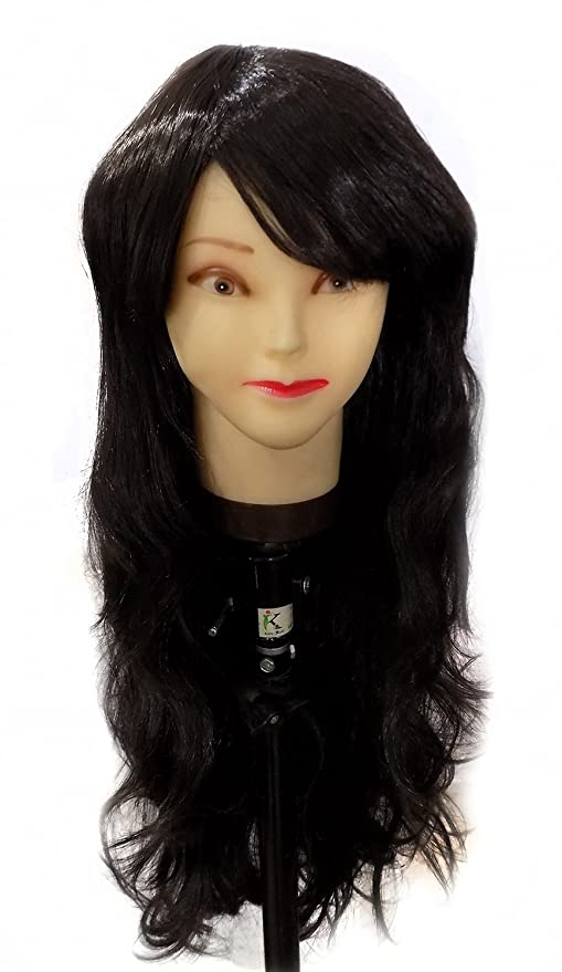 Confidence Synthetic Full Head Wig Soft And Silky Women And Girl ... 430eba80b9