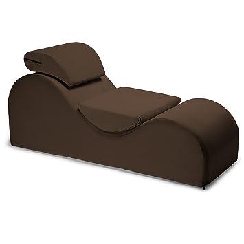 Liberator Esse Lounge Chair, Espresso Velvish