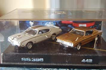 Amazon Com Hotwheels Muscle Cars Oldsmobile Chevrolet Chevy