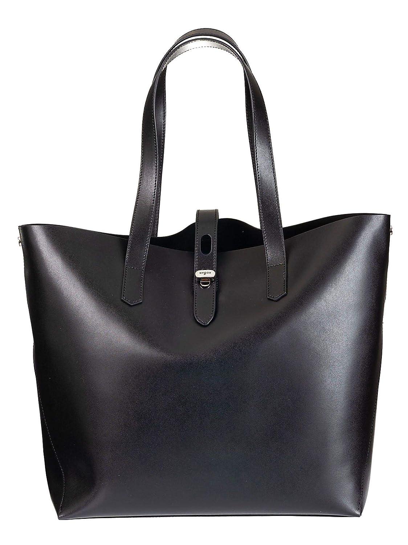 Hogan Womens Kbw010a1400j60b999 Black Leather Tote