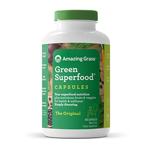 Amazing Grass Green Superfood Capsules Super Green