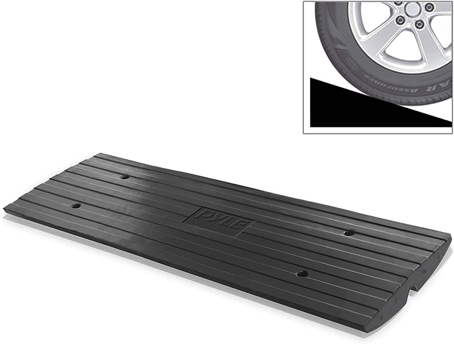 Buses Trucks for Forklifts 5 Ton Sidewalk Curb Ramp 10 Width Driveway Ramps for The Curb Heavy Duty Rubber Curb Ramp VEVOR Curb Ramp 3.7 Height