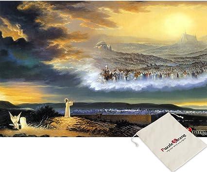 Omega Puzzle Omega la Escalera al Cielo - Kim Hyo Shin - 1000 Pedazos del Rompecabezas de Rompecabezas [Se Incluye Bolsa]: Amazon.es: Juguetes y juegos