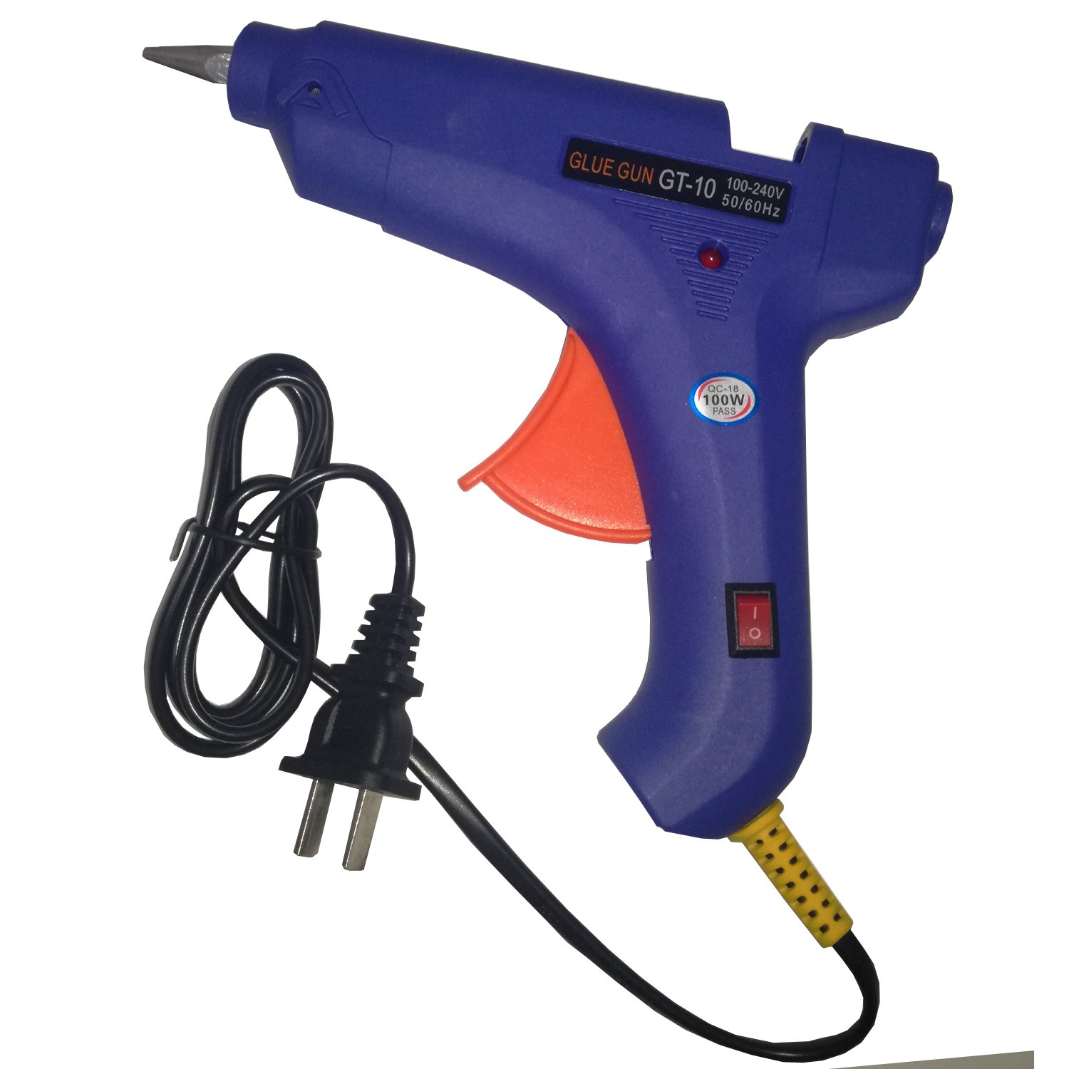 100W AC100-240V 11mm Stick High Temperature Heater Hot Melt Glue Gun Pistolas Silicona Caliente Pistolet Colle GT-10 CE CB
