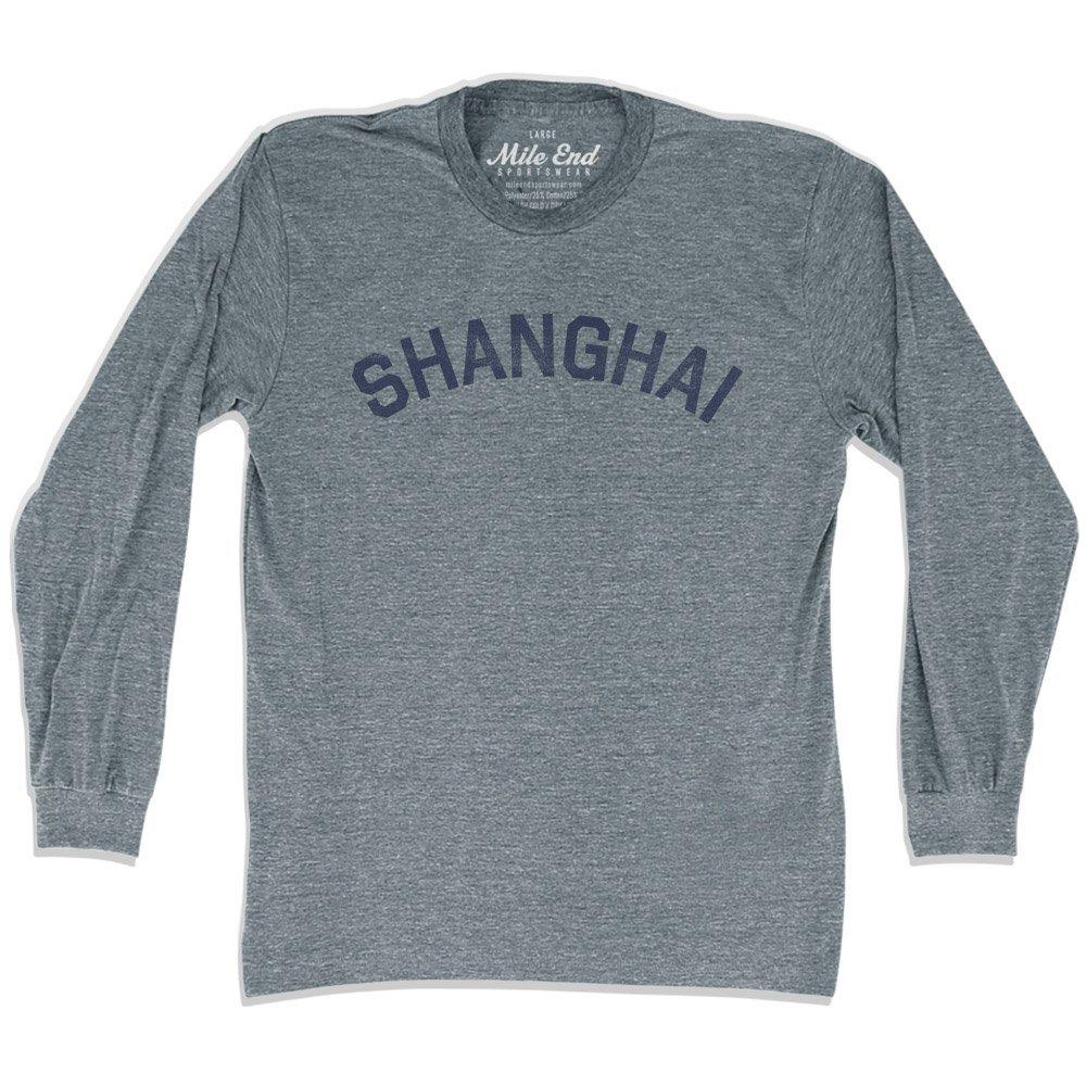 Shanghai City Vintage Long Sleeve T-Shirt