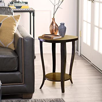 Amazon.com: Melange Round Wooden End Table with Cabriole ... on kitchen dining cabinets, kitchen dining home, kitchen backyard ideas, kitchen back porch ideas, kitchen breakfast room ideas, kitchen dining fireplace, family room room ideas, living room ideas, kitchen mud room ideas, kitchen dining garden, kitchen tv room ideas, kitchen staircase ideas, kitchen library ideas, kitchen breakfast counter ideas, kitchen dining interior design, kitchen wall space ideas, kitchen storage room ideas, kitchen rugs ideas, kitchen dining contemporary, kitchen under stairs ideas,