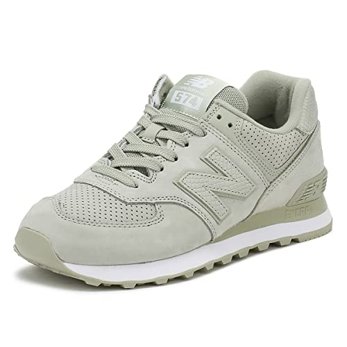 New Balance Mujer Verde ML574 Serpent Luxe Zapatillas: Amazon.es: Zapatos y complementos