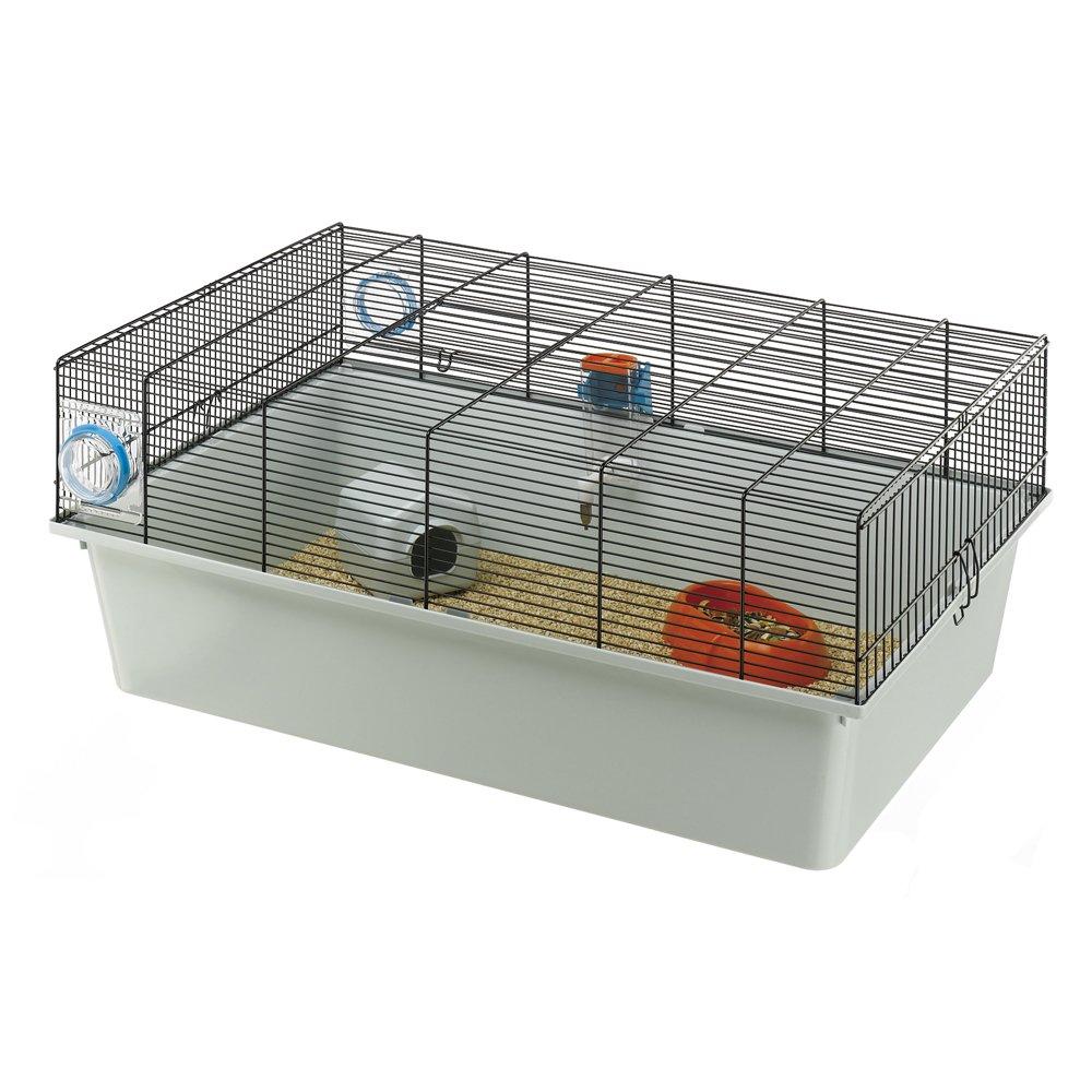 Ferplast Kios mouse Cage, 70 x 47 x 28 cm, grigio