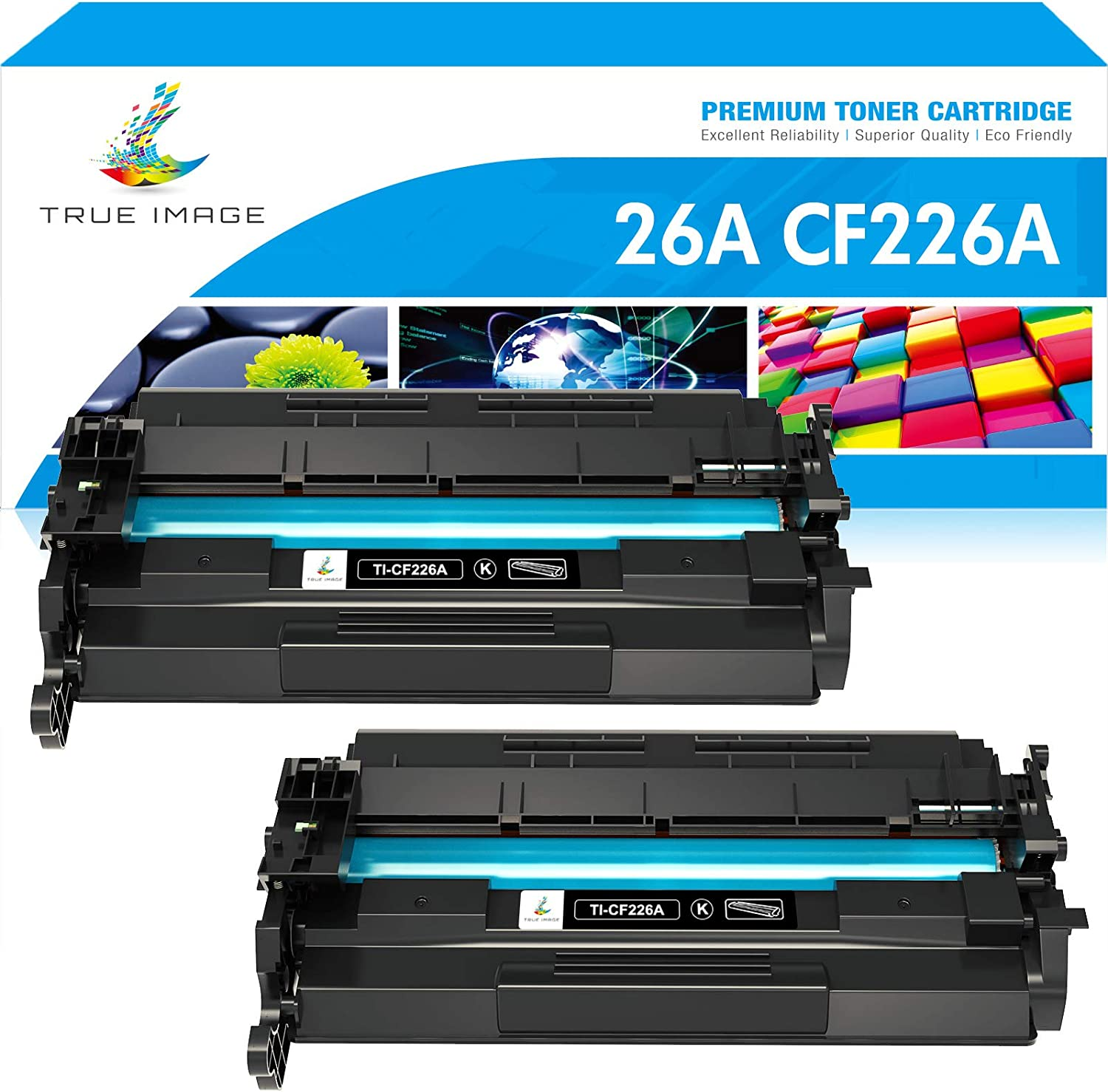 M426FDW Black M402D Works with: Laserjet Pro M402 Laserjet Pro MFP M426FDN M402DN 26X M402DW Premium Printing Products Compatible Ink Cartridge Replacement for HP CF226X
