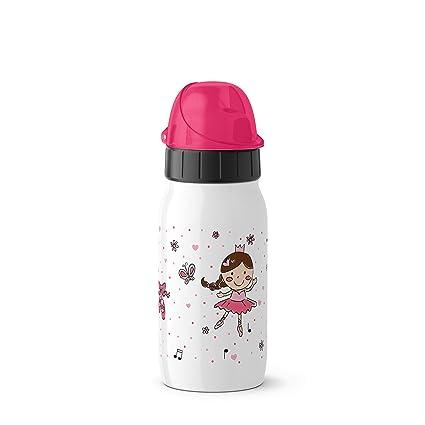 Emsa Drink2Go ISO2GO bidón de Agua 0,35 ML Uso Diario Acero ...