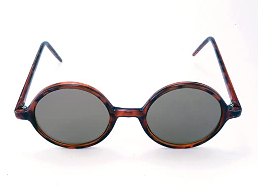 7f5152f424ff Image Unavailable. Image not available for. Colour: Retro Round  Tortoiseshell Sunglasses