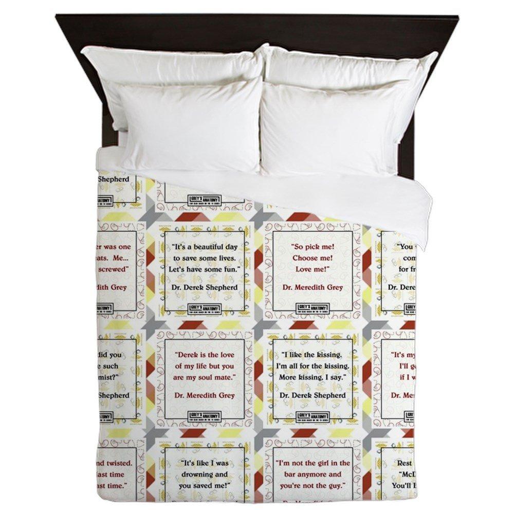 CafePress - MER-DER - Queen Duvet Cover, Printed Comforter Cover, Unique Bedding, Microfiber