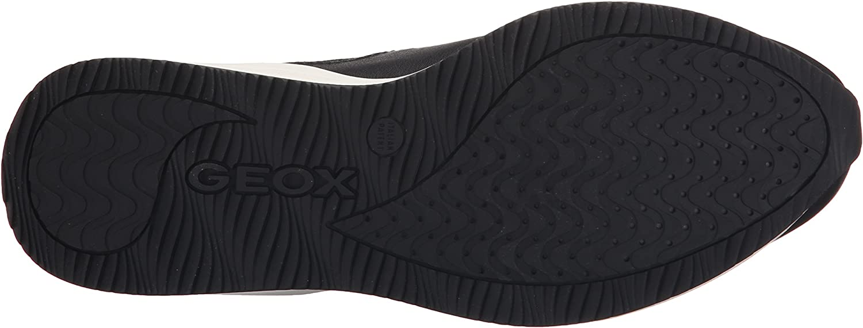Geox Women's D Omaya Fashion Sneaker Black