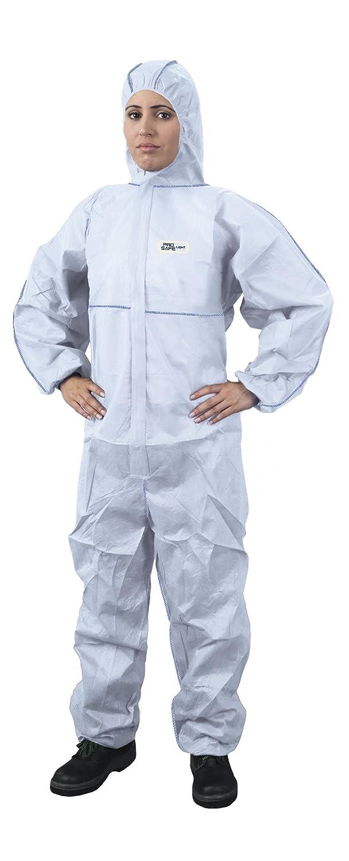 Traje de protección contra Multiusos para Trabajo con Productos químicos, anochecer, partículas nucleares, antiestático protección General categoría III, Tipo