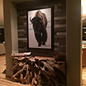 Amazon Com Epic Artifactory Reclaimed Barn Wood Wall