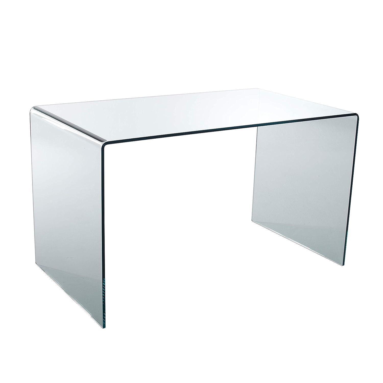 Qriosa Stile Italiano Mod. Desk Escritorio de Oficina de Cristal ...